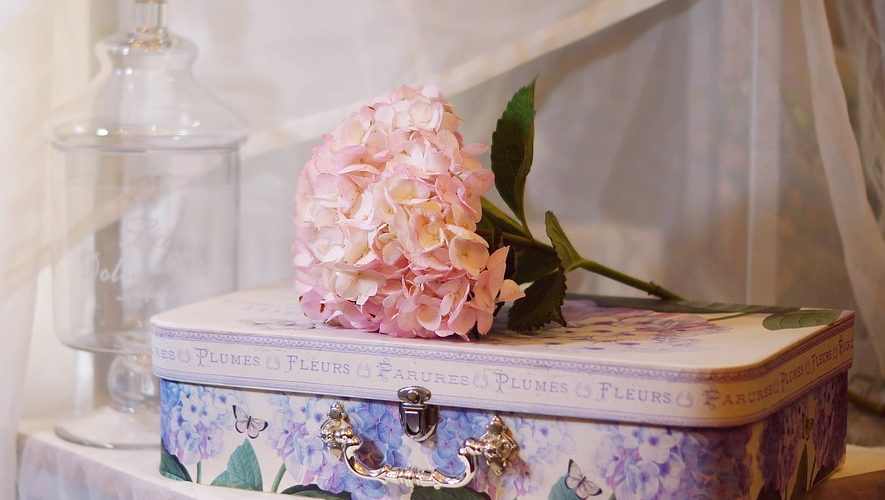 Valise et fleurs - Photo : PixaBay