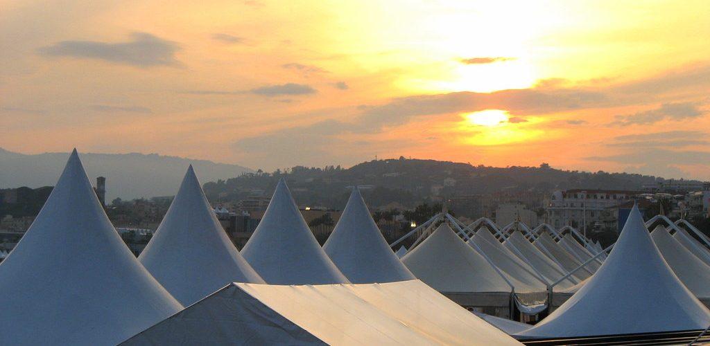 Coucher de soleil sur le festival de Cannes