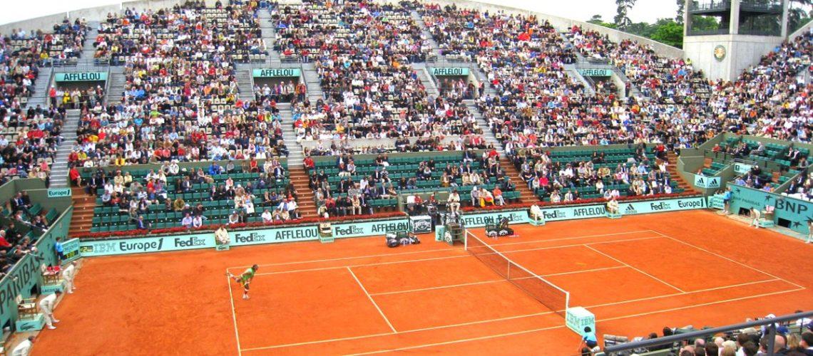 Le court Suzanne Lenglen à Roland Garros
