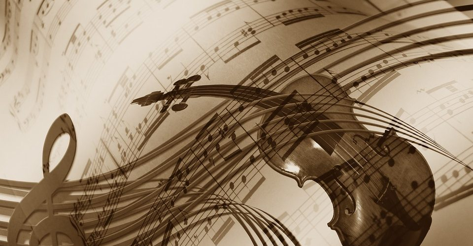 Partitions et violon - Image : Pixabay