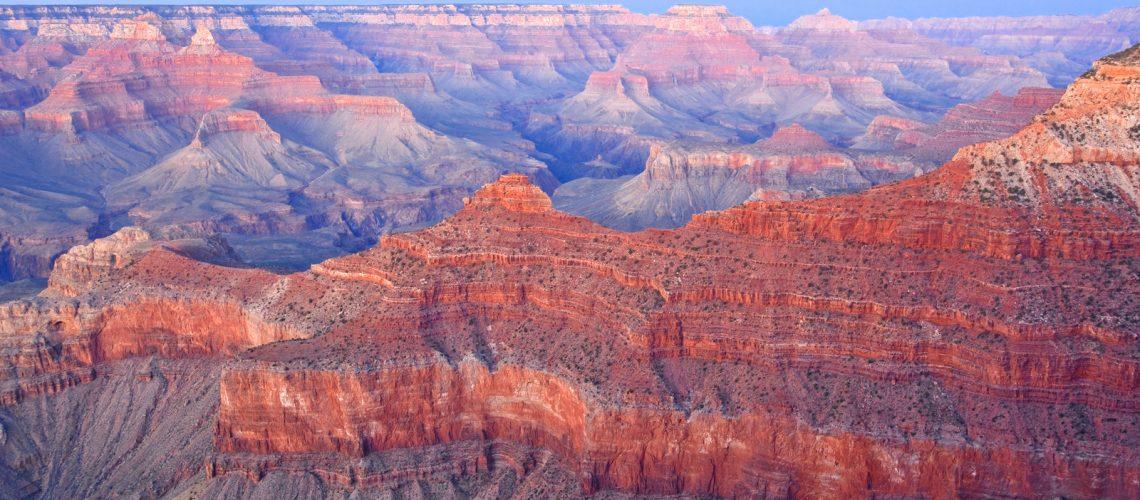 Le Grand canyon au coucher du soleil - Photo Laurence J
