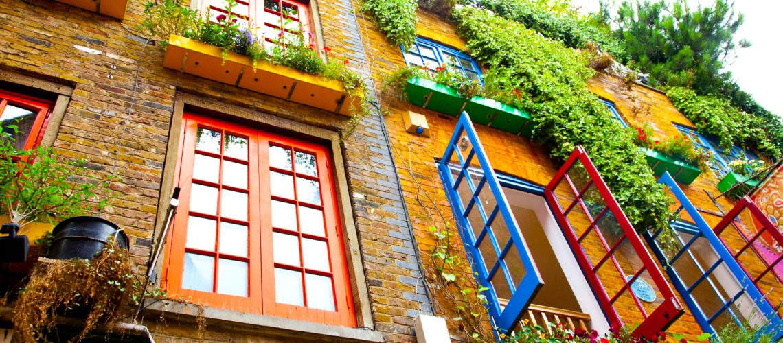 Neal's Yard, la place colorée de Londres - Photo : Laurence J