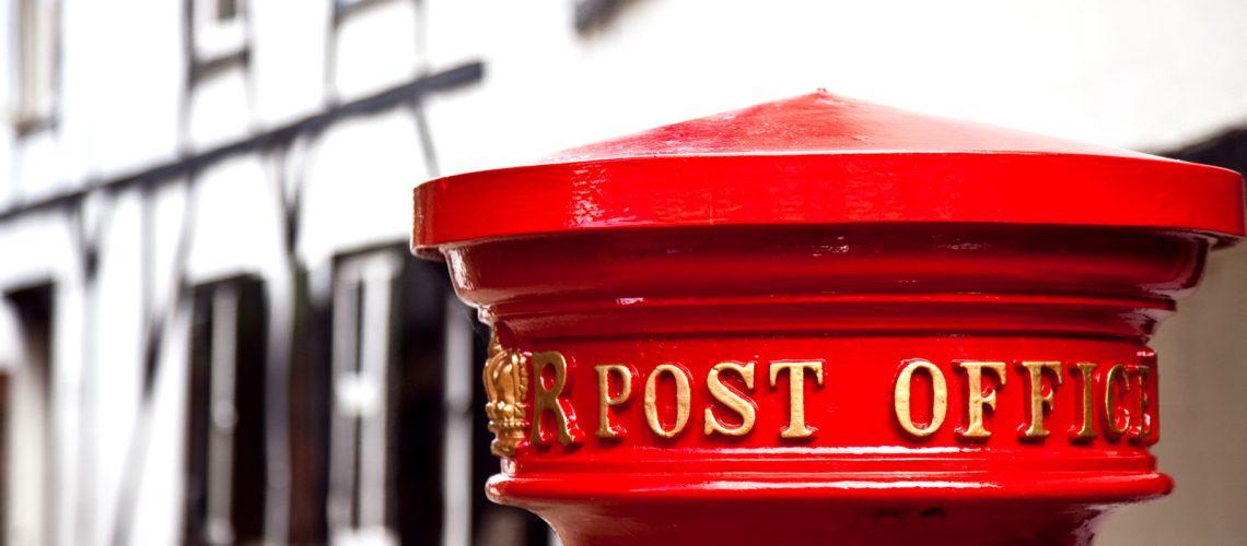 Une boîte aux lettres à Windsor - Photo : Laurence J.