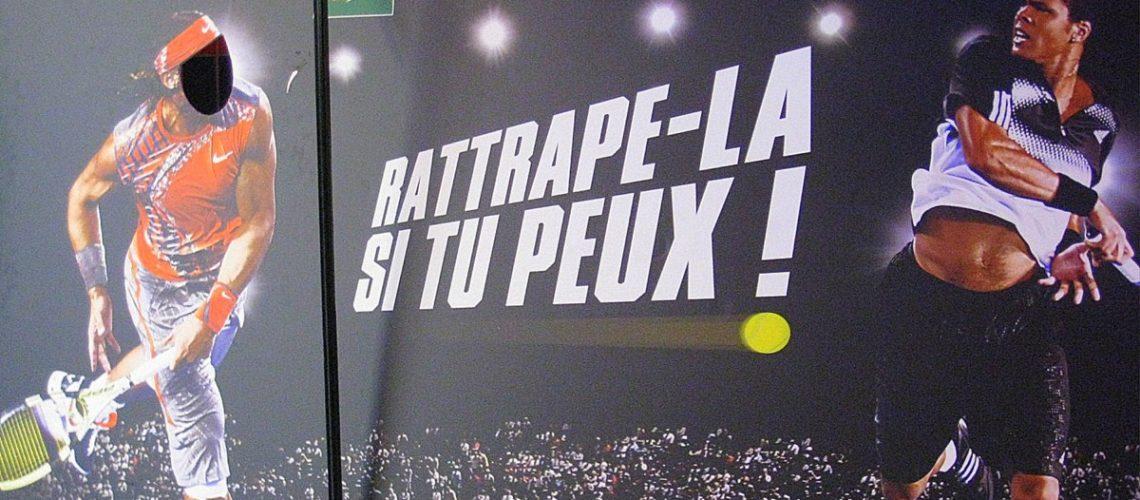 Lors du BNP Paribas Masters Serie de Bercy en 2008