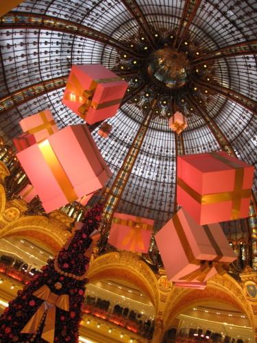 Deco Noel Galeries Lafayette 2009