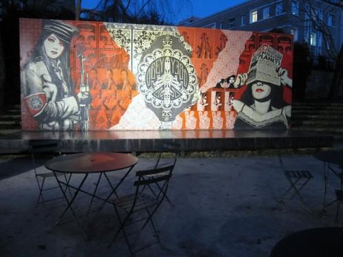 Graffiti Cartier 2009