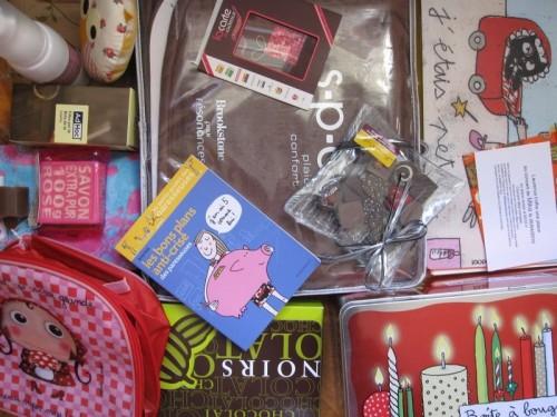 Cadeaux de Noel 2009