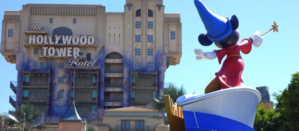 Les studios Disney à Paris : Mickey et la tour de la terreur
