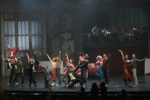 comedie musciale Grease Paris