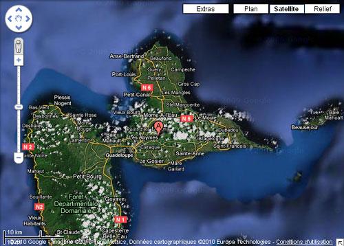 Grande Terre Guadeloupe pla