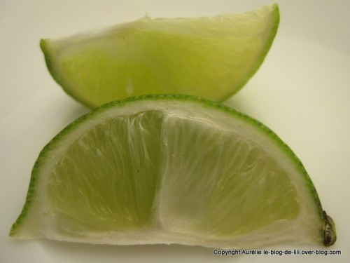 Guadeloupe citron vert