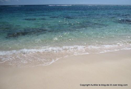 Guadeloupe eau Marie Galante