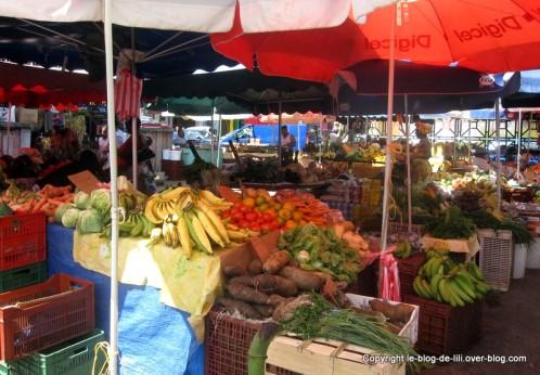 Guadeloupe marché pointe à pitre