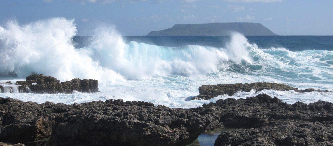 La pointe des châteaux, un peu de Bretagne à Grande-Terre, en Guadeloupe