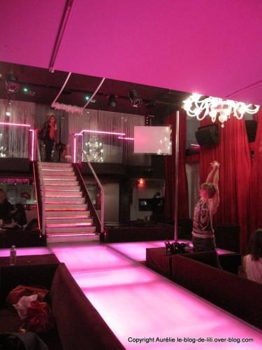 Escalier du Pink paradise