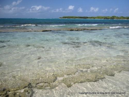 Guadeloupe eaux Petite Terre