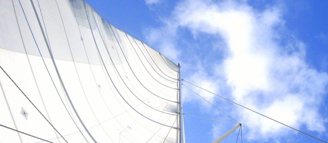 Moment paradisiaque sur un catamaran en direction de Petite Terre, en Guadeloupe