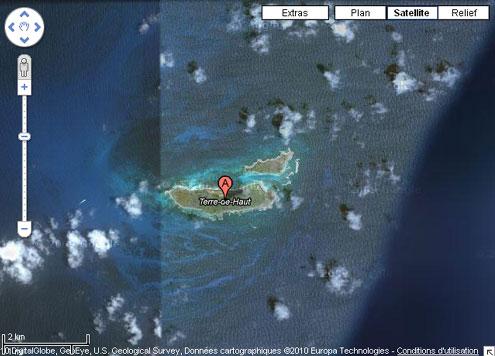 Petite-Terre plan Guadeloup