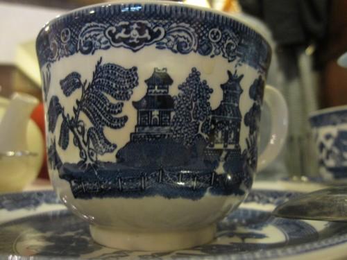 Tea caddy vaisselle