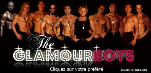 Chippendales Glamour boys