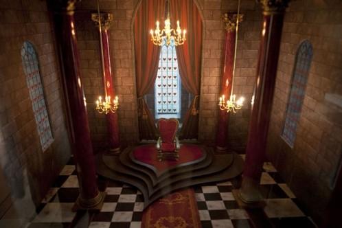 Chateau reine de coeur