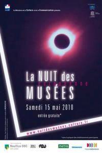 Affiche nuit des musees 2010