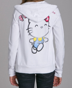 Gilet blanc victoria couture hello Kitty