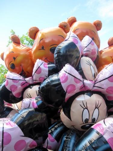 Disney ballons winnie et minnie