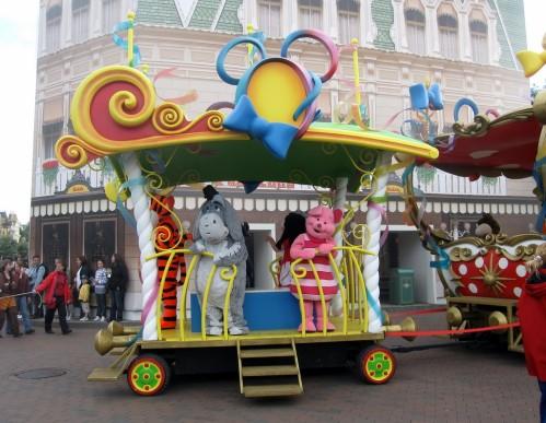 Disneyland Porcinet Bourriquet Tigrou
