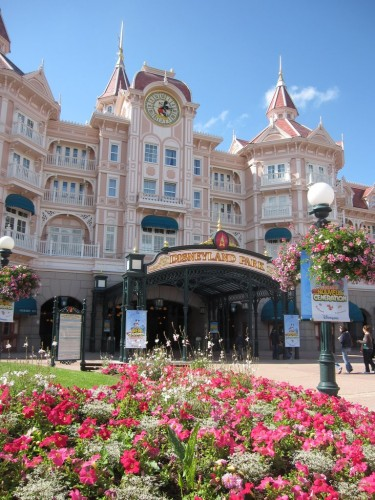 Disneyland paris entree du parc