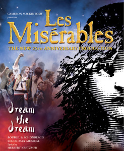 affiche comedie musicale miserables