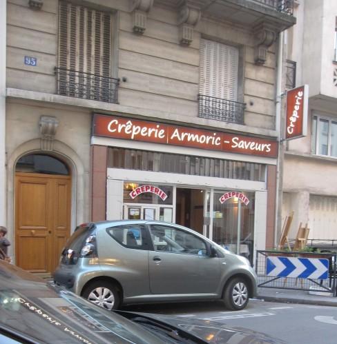 Armoric saveurs devanture Paris