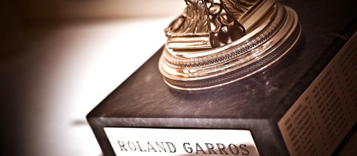 Le trophée de Roland Garros, une œuvre signée Mellerio - Photo : Laurence J.