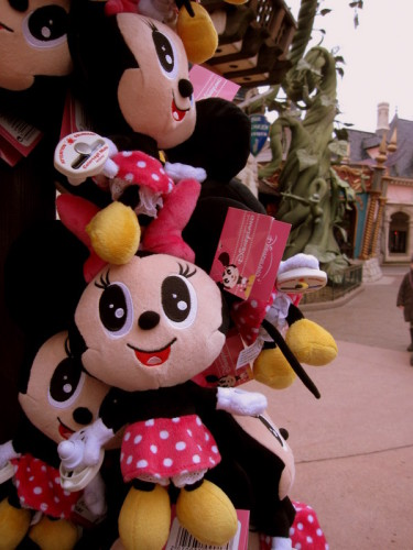 Disneyland Minnie japonaise