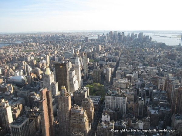 NY Empire state building 12 pointe manhattan jour