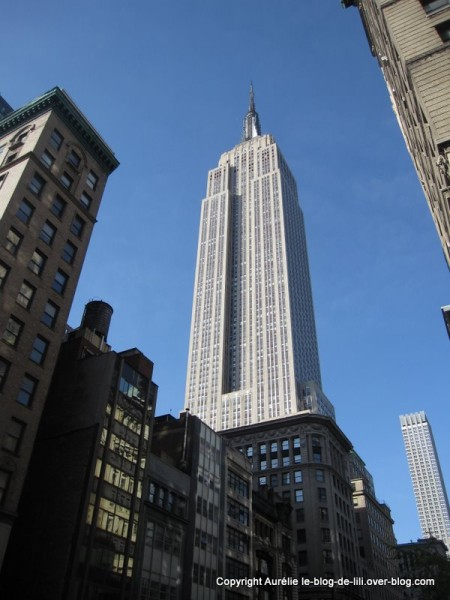 NY Empire state building 2 exterieur