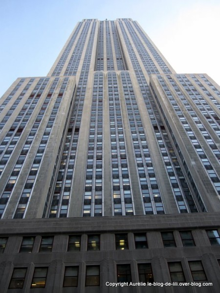 NY Empire state building 4 du bas