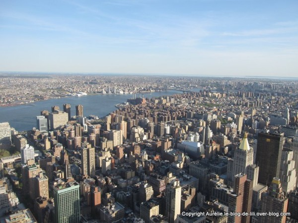 NY Empire state building 6 du haut de jour brooklyn