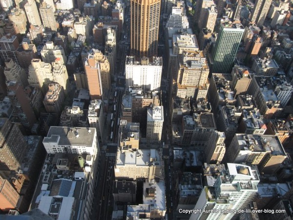 NY Empire state building 7 aux pieds