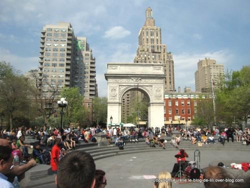 Washington square NYC 1