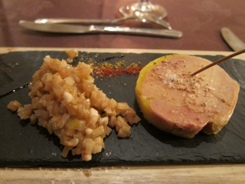 Logis aux Maisons : le foie gras