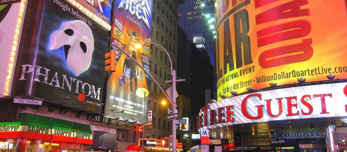 Times Square et Broadway : au cœur du quartier des comédies musicales
