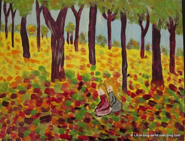 peinture-chataigniers-automne-par-lili.JPG