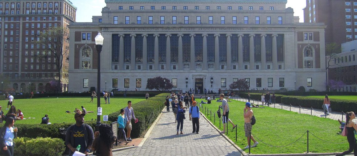 L'université de Columbia à New York