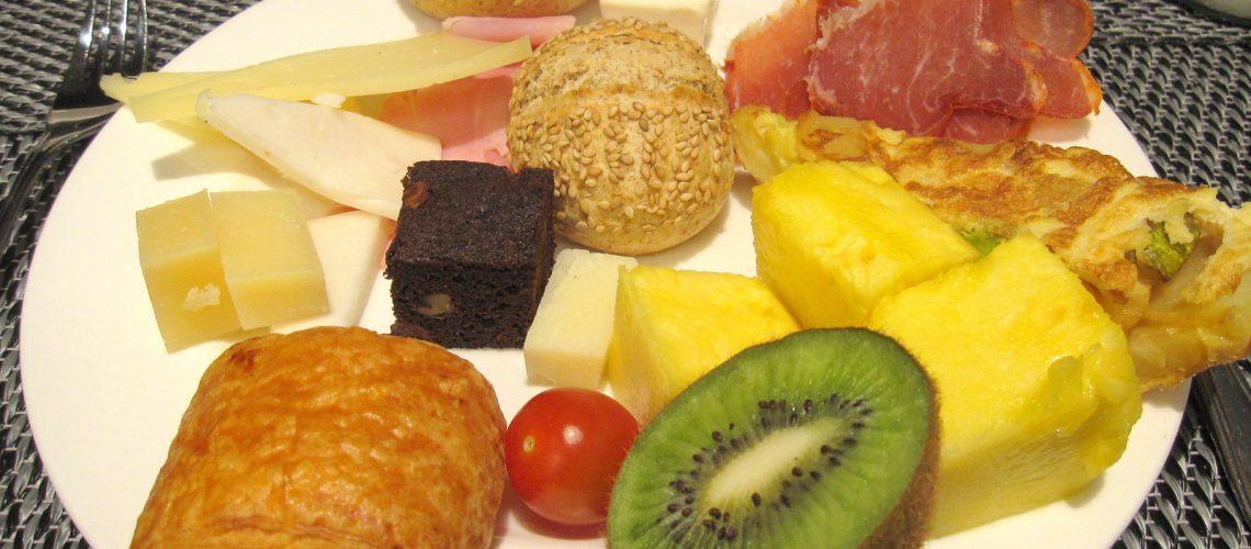 Le délicieux petit-déjeuner de l'AC Ciudad Hotel à Séville