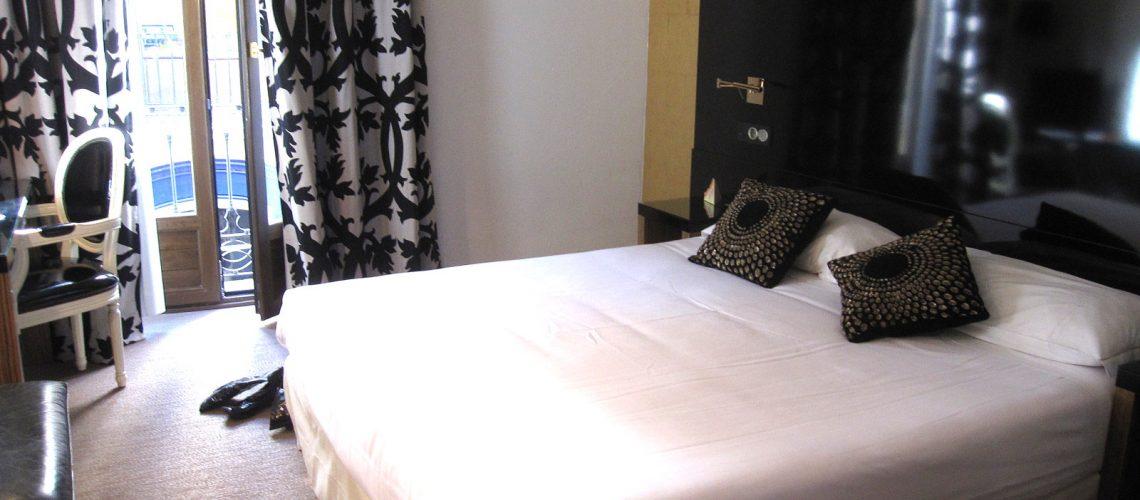 Notre chambre au Room Mate Leo, à Grenade