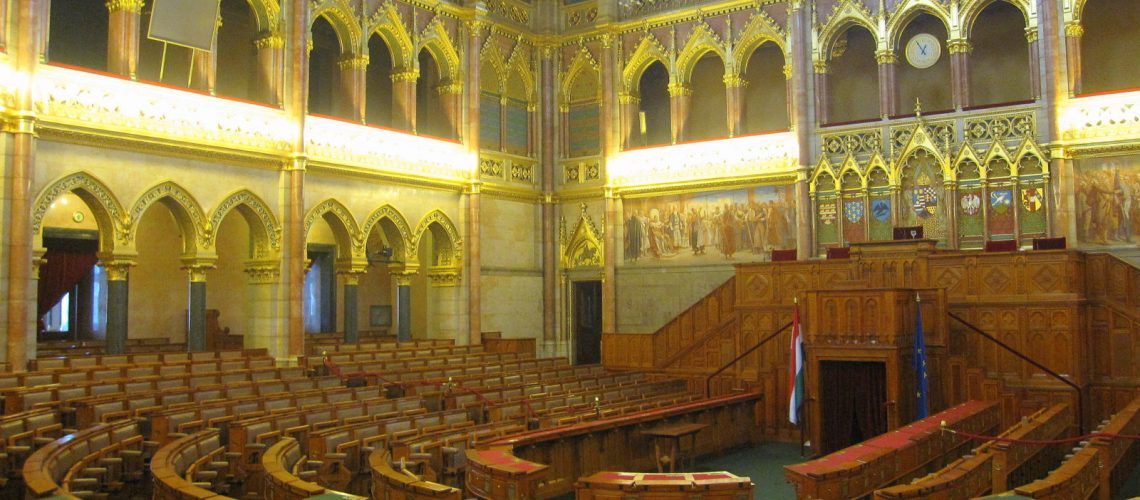 Le Parlement hongrois, à Budapest