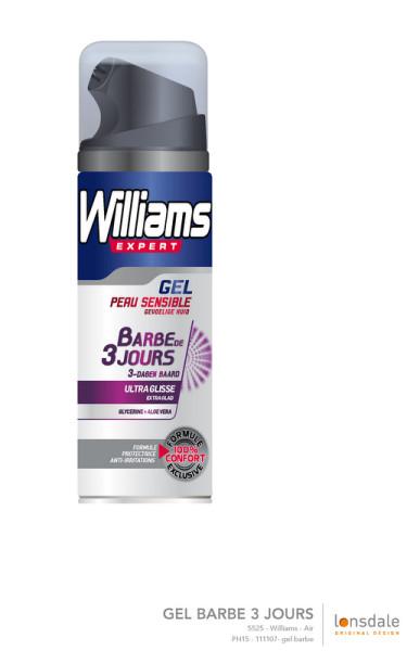 Gel Barbe de 3 jours Williams