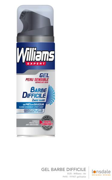 Gel Barbe difficile Williams
