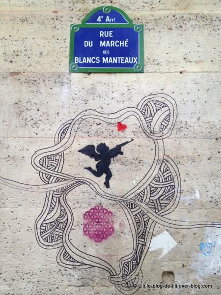 graff Paris blancs manteaux